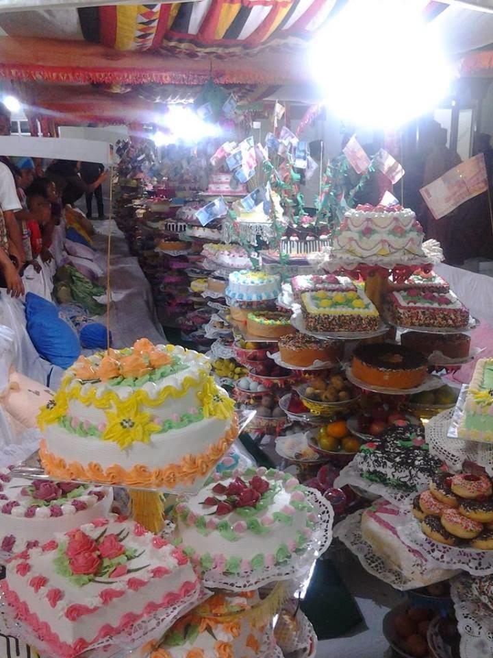 pameran kue maulud nabi mesjid raya pauh sicincin