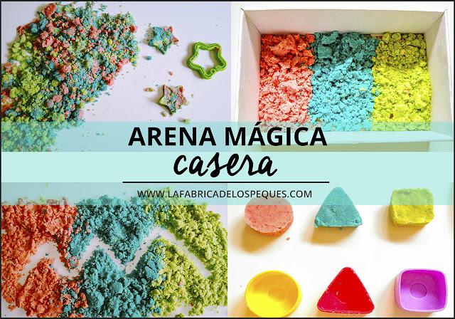 Arena mágica casera