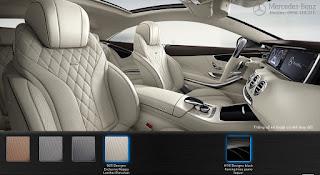 Nội thất Mercedes S400 4MATIC Coupe 2018 màu Vàng Porcelain 965