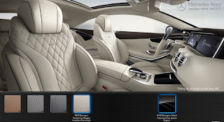Nội thất Mercedes S450 4MATIC Coupe 2019 màu Vàng Porcelain 965