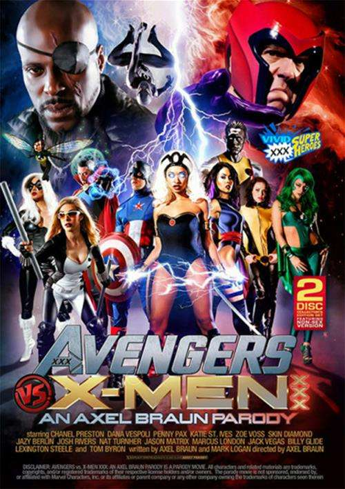 [18+] Avengers VS X-Men XXX Parody (2015) HD 765MB