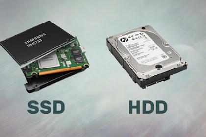 5 Perbedaan SSD dan HDD Mana Yang Lebih Baik?