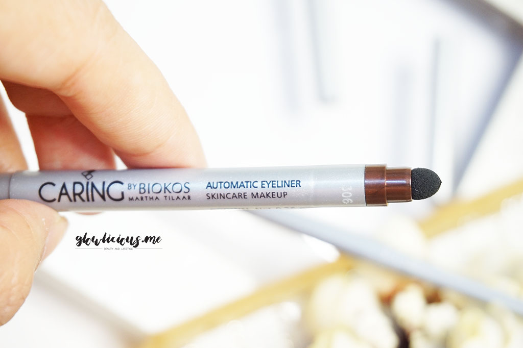 Smudger Caring By Biokos Automatic Eyeliner in Brown & Black