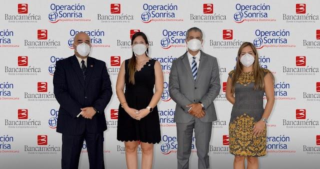 Bancamérica apoya a la Fundación Operación Sonrisa