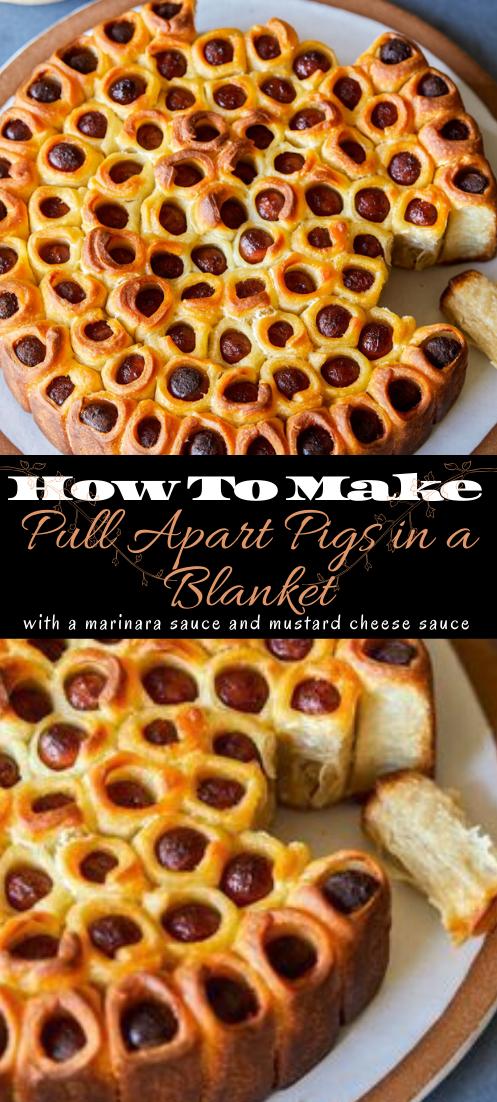 Pull Apart Pigs in a Blanket #healthyfood #dietketo #breakfast #food