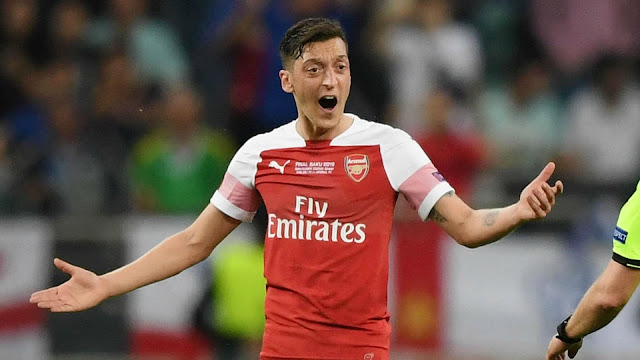COVID-19: Mesut Ozil among three Arsenal players allegedly refusing to take pay cut