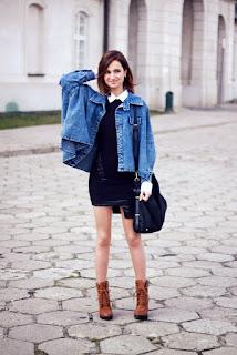 ใส่เสื้อแจ็คเก็ตยีนส์ผู้หญิงกับรองเท้าแฟชั่นอะไรดูดีสวยน่ารักอินเทรนด์มากที่สุด