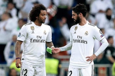 مارسيلو وإيسكو يستعدون لمغادرة ريال مدريد في الصيف المقبل