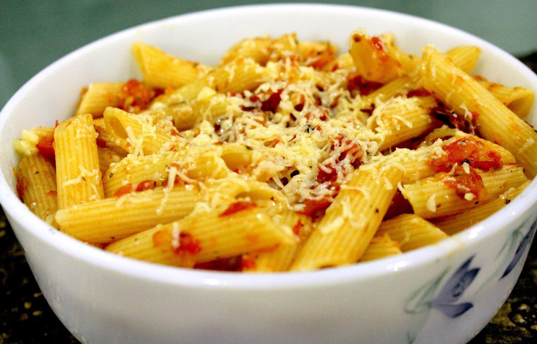the kitchen on the 28th floor pasta arrabiata