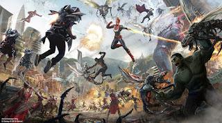 Avengers Disneyland Ride Concept Art Wakanda