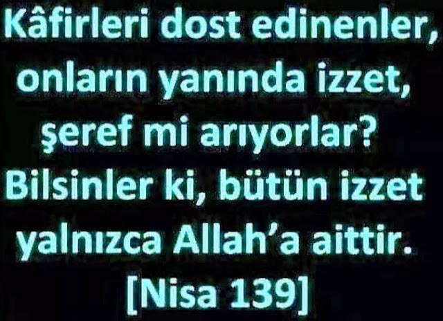 Nisa Sûresi 139. Âyet