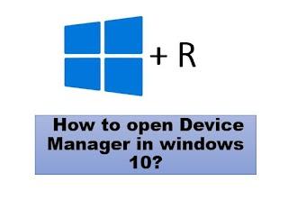 Cara membuka Device Manager di Windows 10