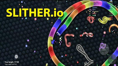 game cacing slither.io