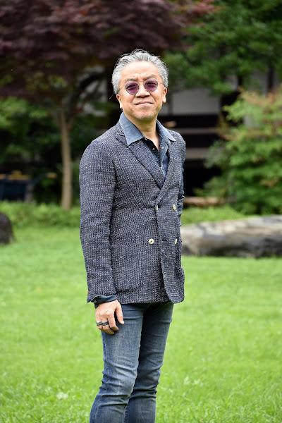 40代メンズのダブルジャケットのコーディネート