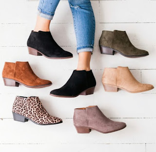 Basically Booties- $32.99