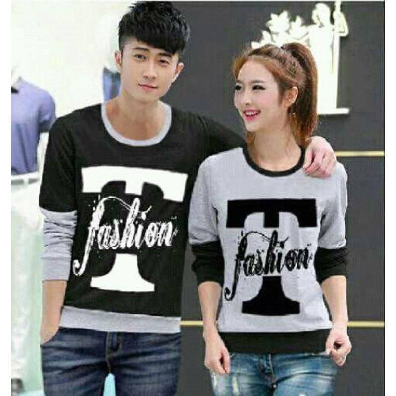 Jual Online Sweater T Fashion Murah Jakarta Bahan Babytery Terbaru