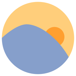 Preview of Sunset, Sun icon