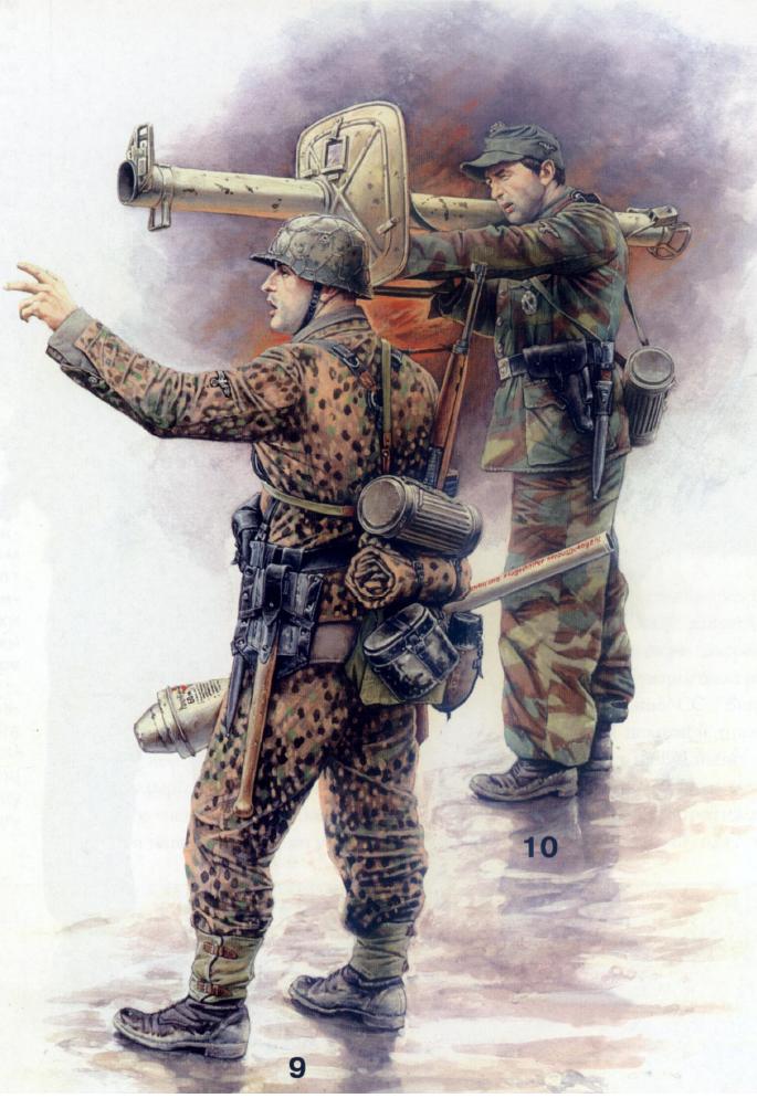 Famoso la biblioteca militare: L'esercito tedesco nella seconda guerra  WE93
