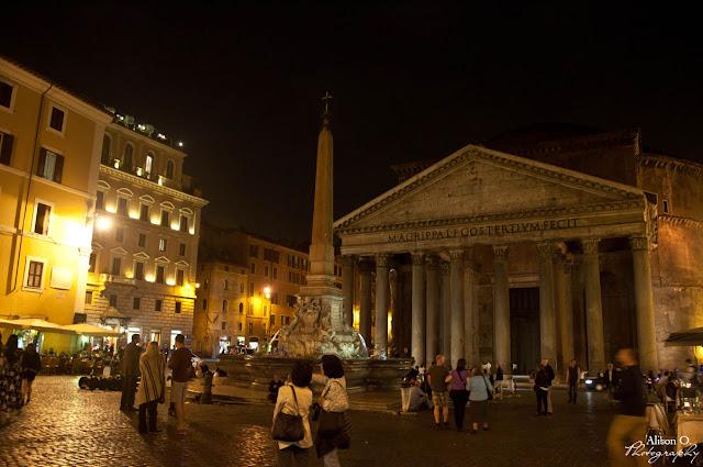 Citytrip Rome Italie de nuit Panthéon