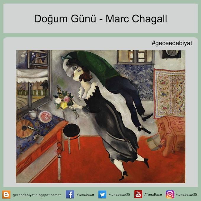 Doğum Günü - Marc Chagall