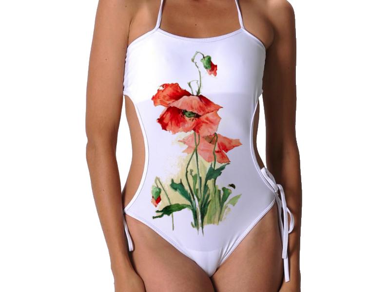 Fürdőruha - Bikini Divat  Szép pipacs 3fe776bf9d