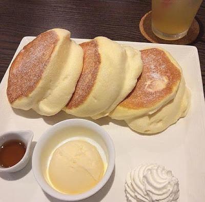 Pancake Japun Memang Gebu