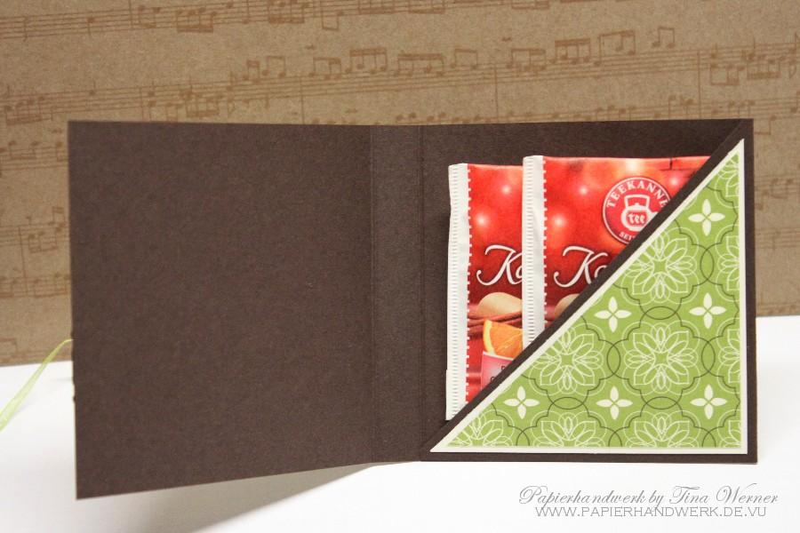 papierhandwerk vip donnerstag tea bag holder. Black Bedroom Furniture Sets. Home Design Ideas