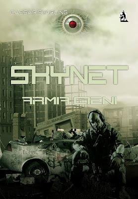 """Niesamowicie zapowiadający się e-book autorstwa Caesara Starlinga pt. """"Skynet. Armia Cieni""""!"""