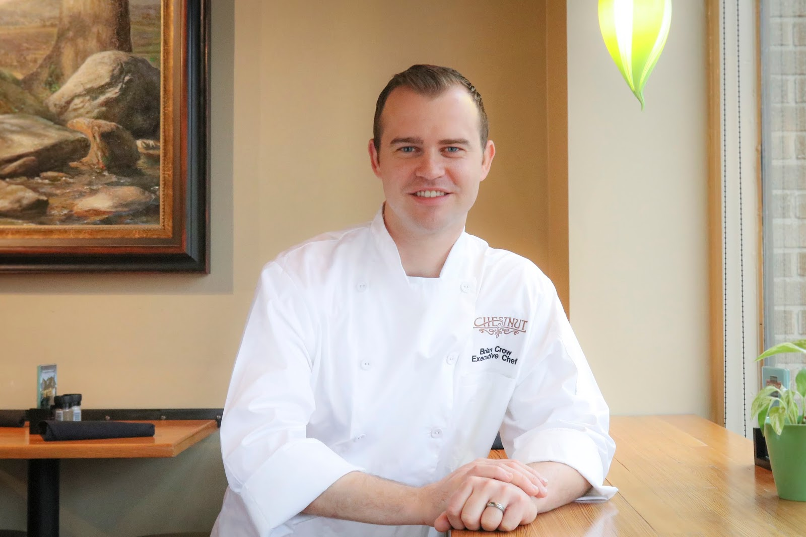 Asheville business blog chef brian crow comes home Chef comes to your house