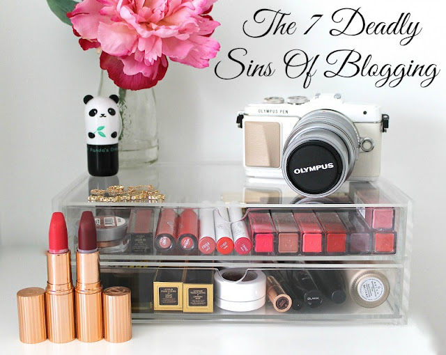 The 7 Deadly Sins Of Blogging