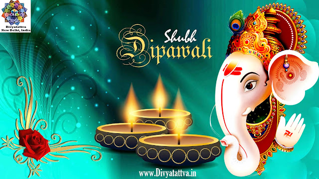 happy diwali hd wallpaper, lord ganesha , shubh deepavali, diwali greeting messages with pictures