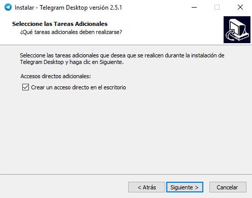 telegram para windows