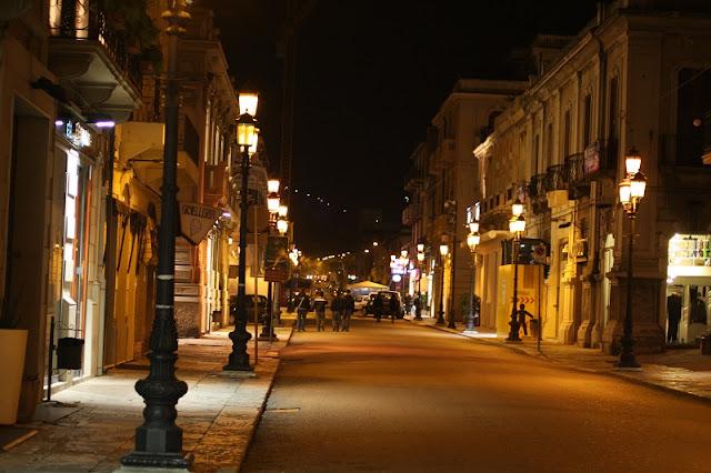 Corso Garibaldi na região da Calábria