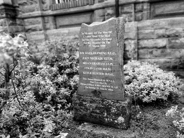 Alexander Kielland Memorial, Cleator Moor