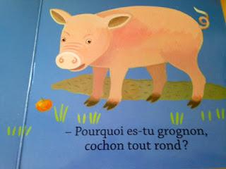 Petit Ours Brun - Illustration du Cochon