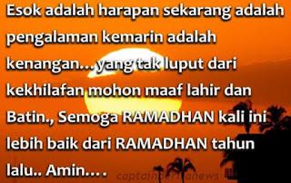 Gambar DP Minta Maaf Lahir Batin Puasa Ramadan Status Islami Ramadhan