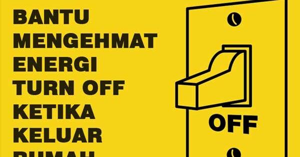 Contoh Gambar Poster Hemat Energi Listrik Yang Mudah ...