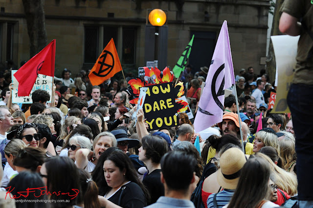 Sydney Climate Rally - 'How Dare You'