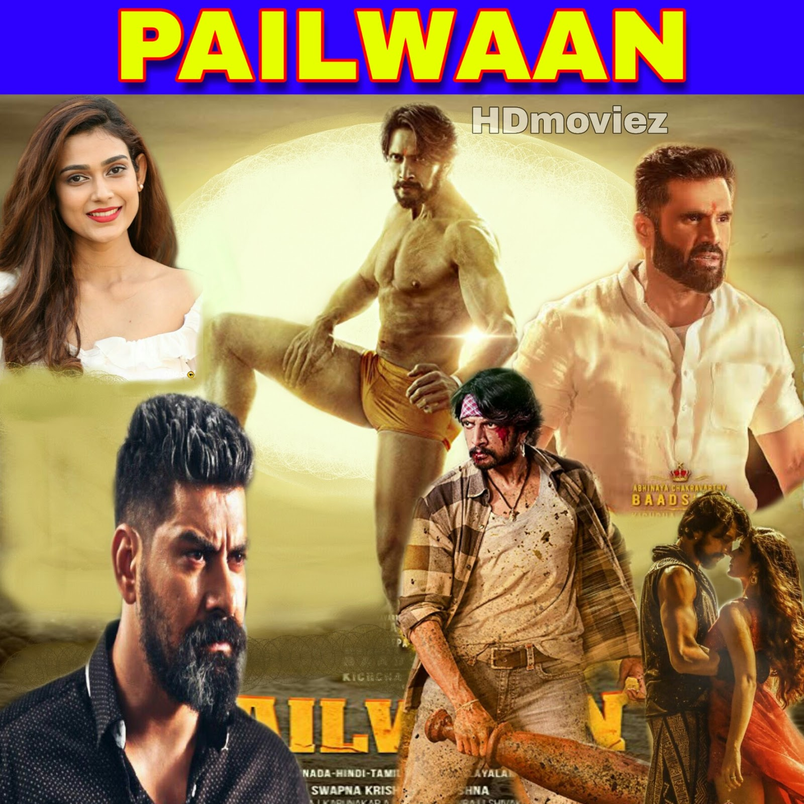 Pailwaan (pehlwan) full movie - Download cinevood club, Filmywap, 300mb, 720p hd Hindi dubbed