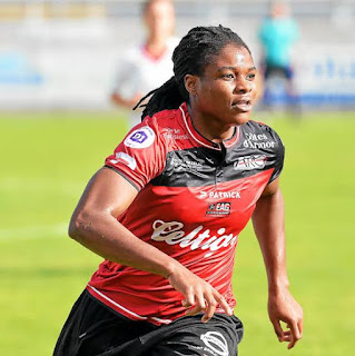 Super Falcons striker pens farewell message after ended her six-year-long career with French club