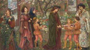 El jardín encantado de Marie Spartali Stillman