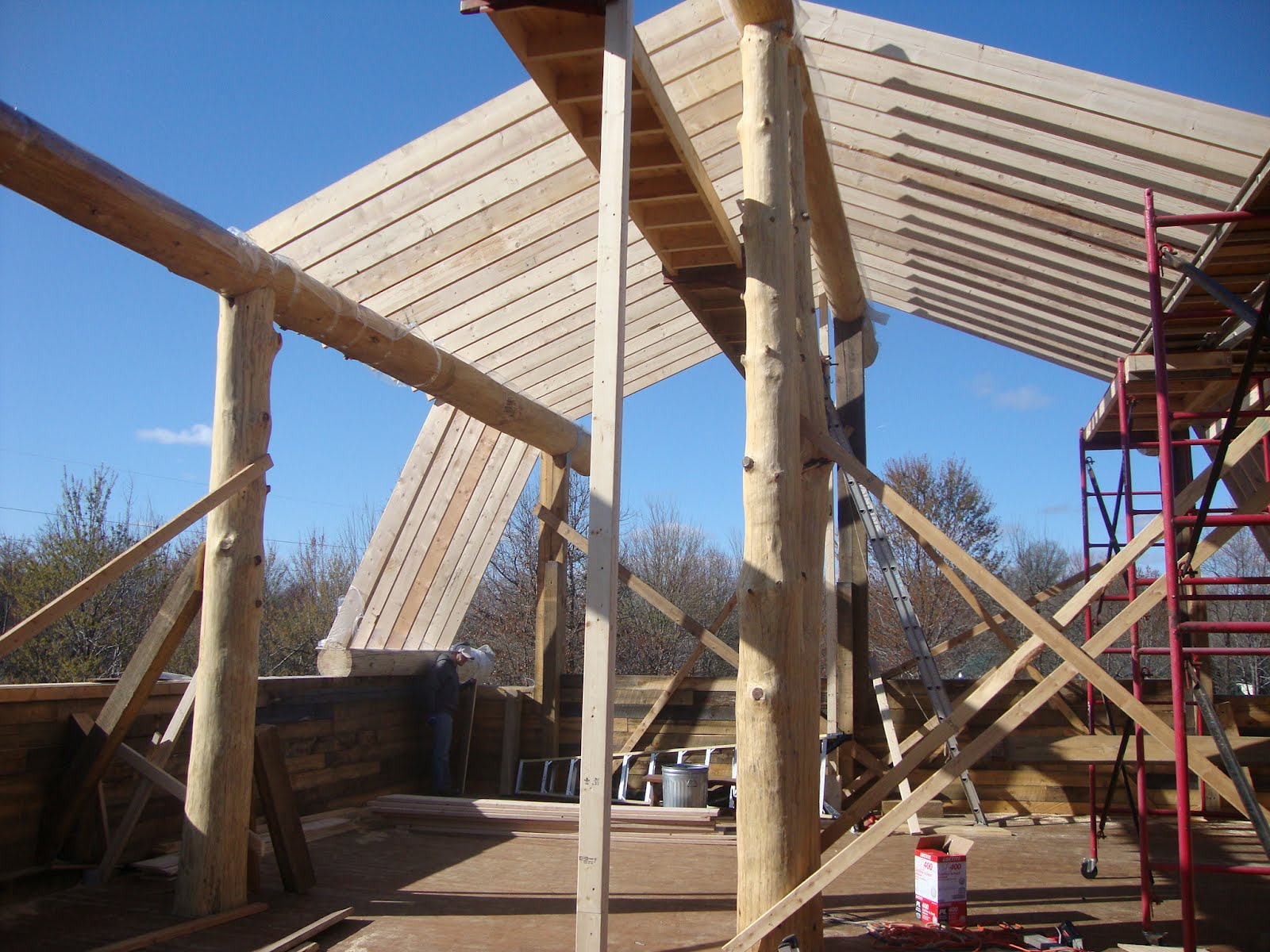 Barn Roof Frame Amp Midwest Custom Timber Frames Listed In