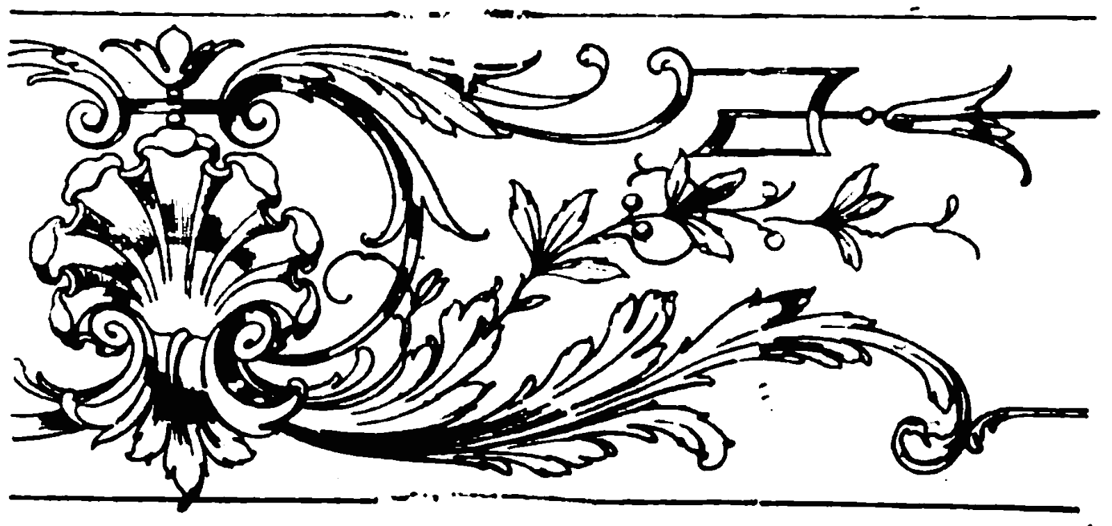 19th Century Historical Tidbits: 1897 Border Designs