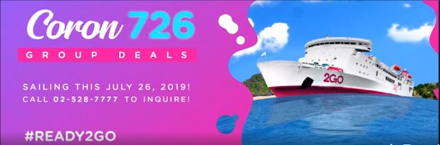 2Go Travel Promo - SuperFerry Promo 2019 to 2020