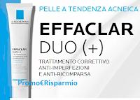 Logo La Roche-Posay : ricevi gratis il campione omaggio Effaclar Duo (+)