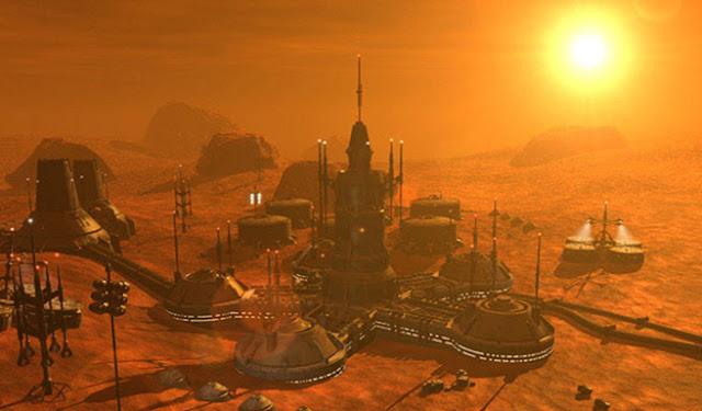 Ilmuwan ingin memperkenalkan global warming ke planet Mars