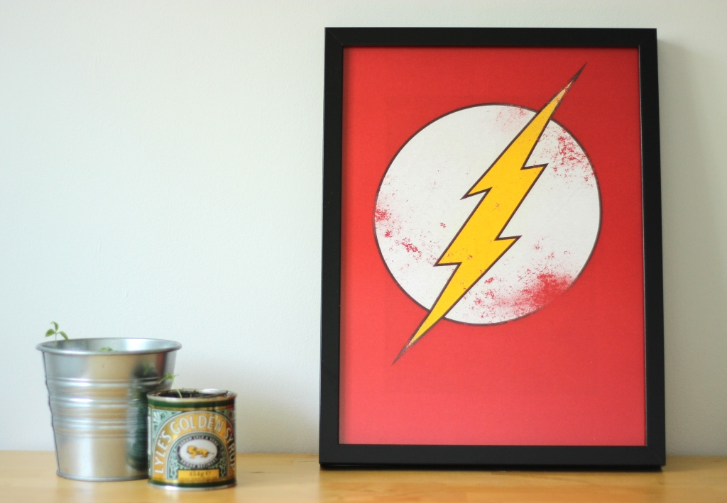 Repurpose Old Clothes: Wall art