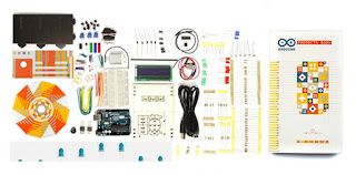 Arduino Starter Kit components