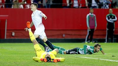 Crónica Sevilla FC 4 Vs Real Betis 0