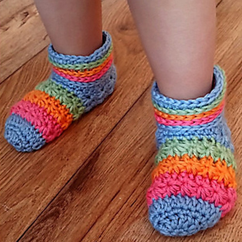 Starlight Toddler Slippers - Free Pattern